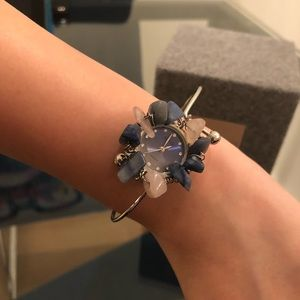 Accessories - Women Fashion Watch with rhinestones & stones